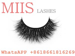 100% handmade human hair eyelashes