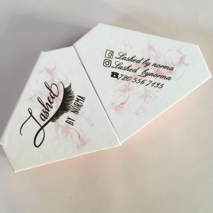 Custom Diamond Lash Boxes
