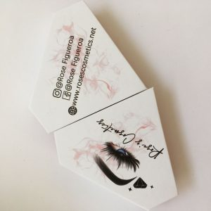 Custom White Lash Boxes